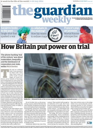 The Guardian Weekly Newspaper Subscription