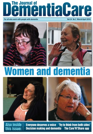 The Journal of Dementia Care Magazine Subscription