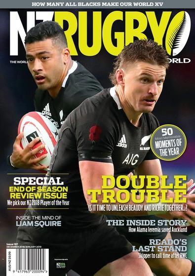 NZ Rugby World Magazine Subscription