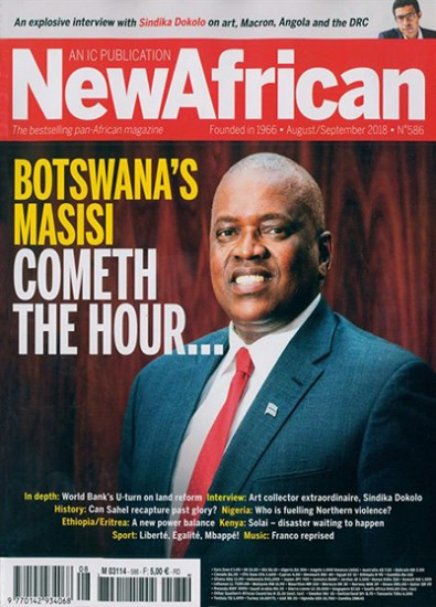 New African Magazine Subscription
