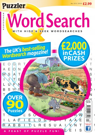 Q Word Search Magazine Subscription