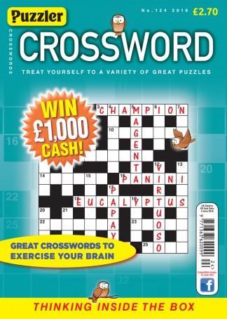 Puzzler Crossword Magazine Subscription