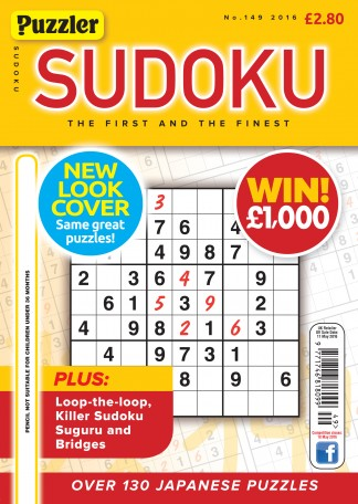 Puzzler Sudoku Magazine Subscription