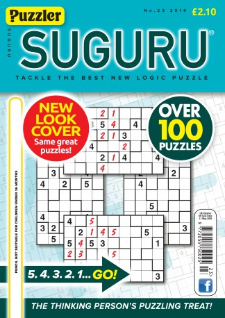 Puzzler Suguru Magazine Subscription