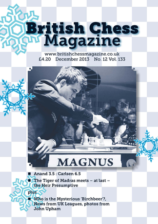 The British Chess Magazine Magazine Subscription