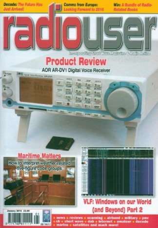 Radio User Magazine Subscription
