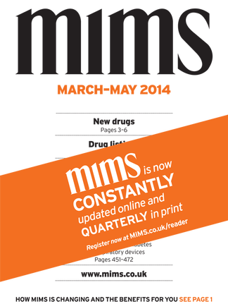 MIMS Magazine Subscription