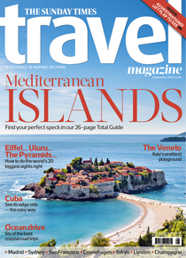 Sunday Times Travel Magazine Subscription