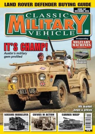 Classic Military Vehicle Magazine Subscription