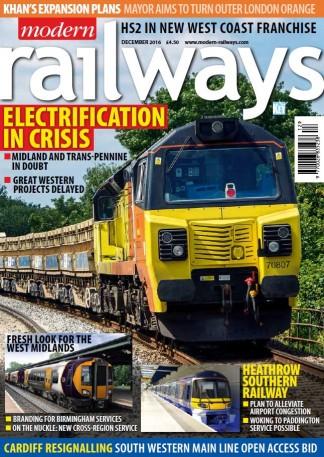 Modern Railways Magazine Subscription