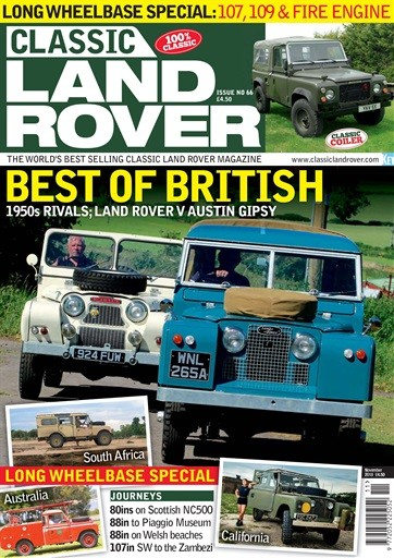 Classic Land Rover Magazine Subscription