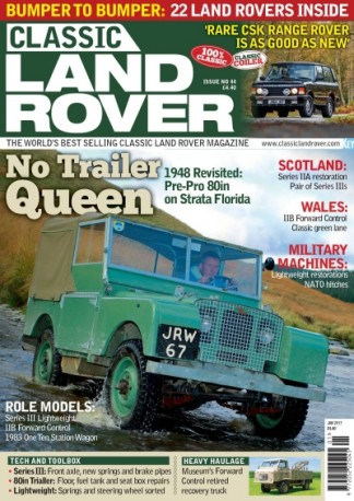Classic Land Rover Magazine Subscription