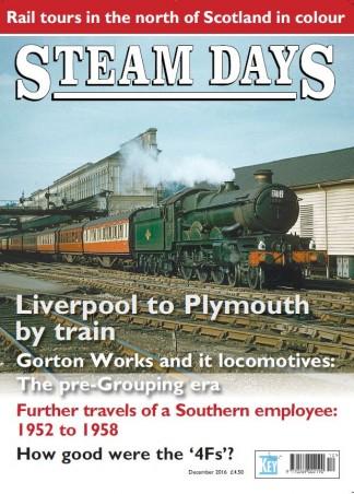 Steam Days Magazine Subscription
