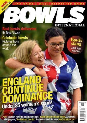 Bowls International Magazine Subscription