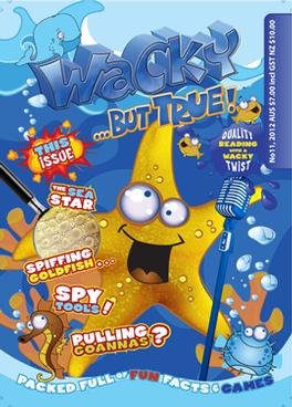 Wacky But True Magazine Subscription