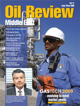 Oil Review Middle East Magazine Subscription