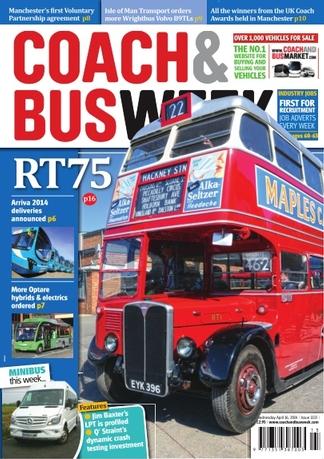 Coach & Bus Week Magazine Subscription