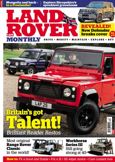 Land Rover Monthly Magazine Subscription