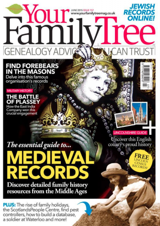 Your Family Tree Magazine Subscription