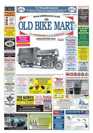 Old Bike Mart Magazine Subscription