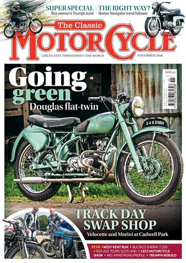 The Classic MotorCycle Magazine Subscription