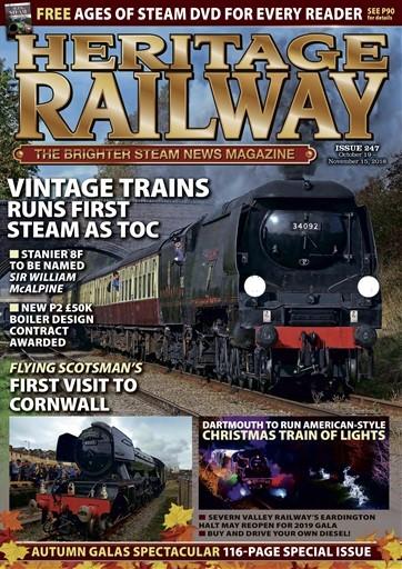 Heritage Railway Magazine Subscription