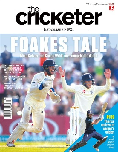 The Cricketer Magazine Subscription