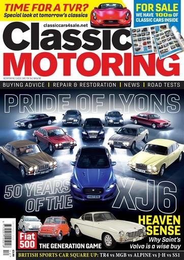 Classic Motoring Magazine Subscription