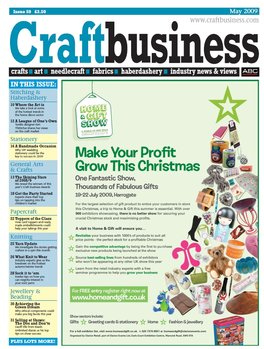 Craft Business Magazine Subscription