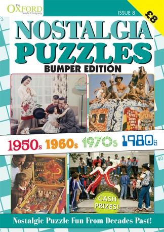 Nostalgia Puzzles Bumper Edition Magazine Subscription