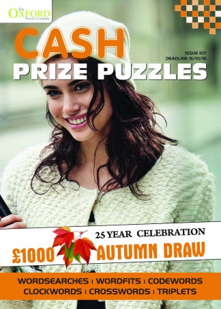 Cash Prize Puzzles Magazine Subscription