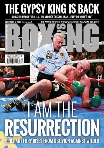 Boxing News Magazine Subscription