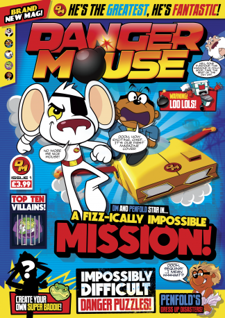 Danger Mouse Magazine Subscription
