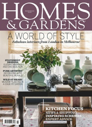 Homes gardens magazine subscription whsmith for Home design magazine subscription