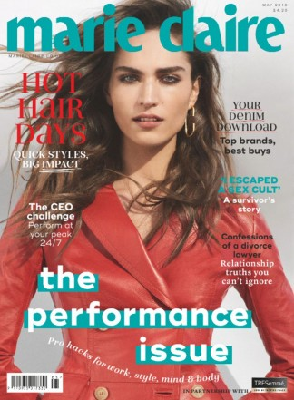 Marie Claire- Travel size Magazine Subscription