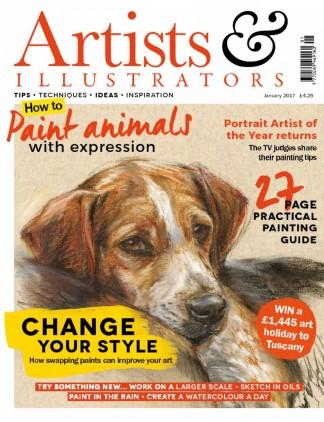 Artists & Illustrators Magazine Subscription