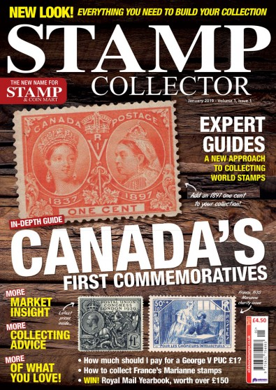 Stamp Collector Magazine Subscription