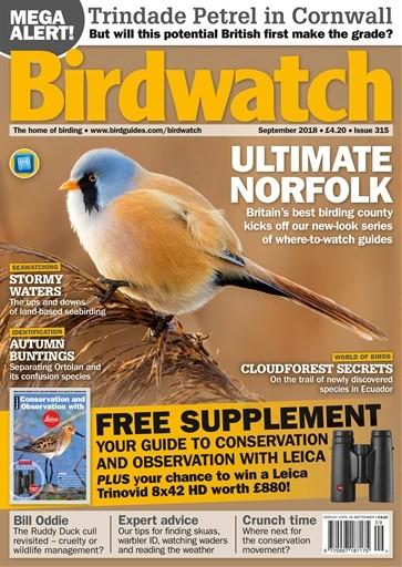 Birdwatch Magazine Subscription