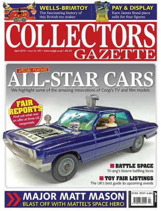 Collectors Gazette Magazine Subscription