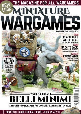 Miniature Wargames Magazine Subscription