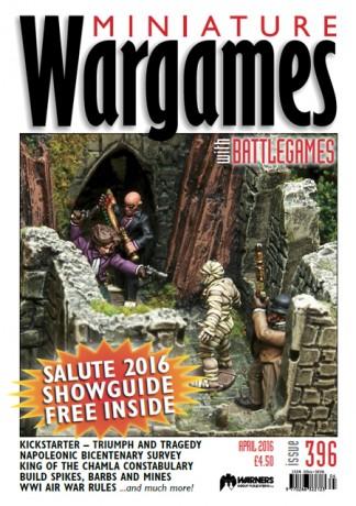 Miniature Wargames Magazine Subscription