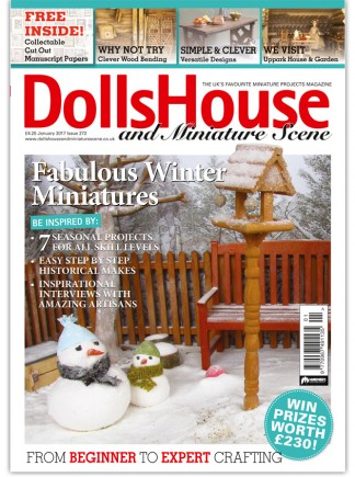 Dolls House & Miniature Scene Magazine Subscription