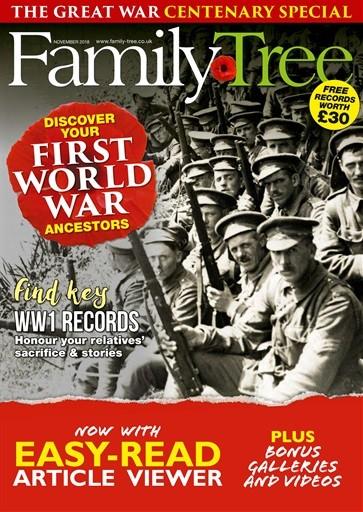 Family Tree Magazine Subscription