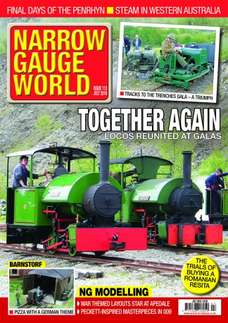 Narrow Gauge World Magazine Subscription