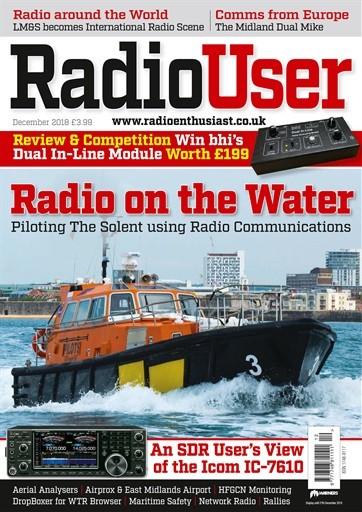 Radio User Magazine Subscription