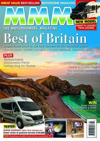 MMM The Motorhomers Magazine Subscription