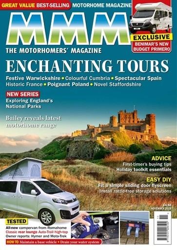 MMM The Motorhomers Magazine Subscription