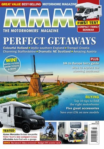 f4491f9ade MMM The Motorhomers Magazine Subscription