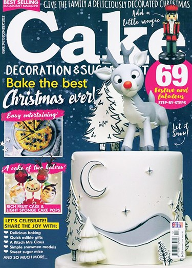 Cake Decoration & Sugarcraft Magazine Subscription