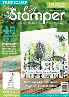 Craft Stamper Magazine Subscription